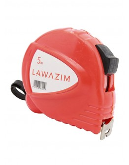 Lawazim Measuring Tape Red 5 meter - 0018