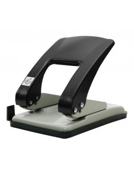 Heavy Duty Hole Puncher Silver/Black Model: P-555