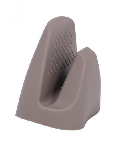 Silicone Grip Oven Mitt Grey