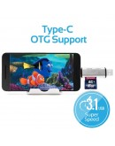 OTGLink-C 3-in-1 USB Type-C OTG Card Reader for Smartphone, Tablets & Computers - 7678