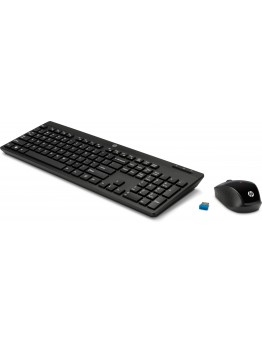 HP Wireless Keyboard And Mouse Set - 200  Black - 2630