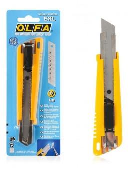 OLFA Heavy duty cutter 18mm EXL - 0300