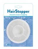 Hair Stopper Prevents Drain Clogging