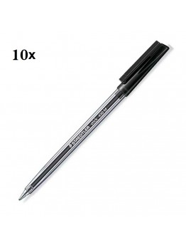 Steadtler Stick 430 BLACK Soft 10 pec Medium
