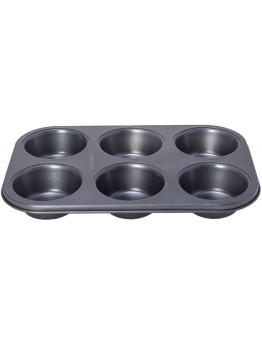 Alberto Muffin and Cupcake Molds, Non Stick, Grey, 32*21.5*3.8 cm - 8765
