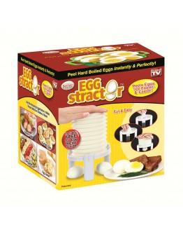 Eggstractor Instantly Removes Egg Shell Remove Hard Boiled Egg Peeler