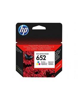 خرطوشة حبر أصلية ثلاثية الألوان 652 متعدد الألوان - HP 652 ORIGINAL INK CARTRIDGES COLOUR