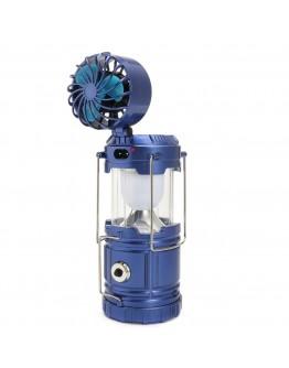 مصباح التخييم اضاءة ال اي دي يعمل بالطاقة الشمسية وقابل للشحن - Camping Lantern LED