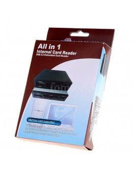قارئ بطاقات الذاكرة - Popular All in 1 Card Reader USB 2.0 HUB Internal PC