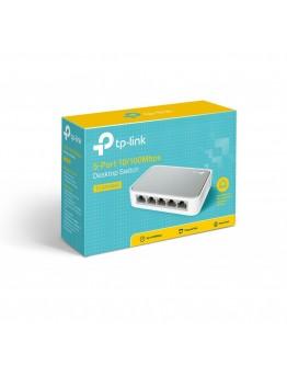 سويتش سطح المكتب 5 منافذ 10/100 ميجابت/ثانية - TL-SF1005D 5-Port 10/100Mbps Desktop Switch
