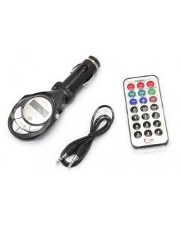 مشغل ام بي ثري للسيارة مع محول اف ام و تحكم عن بعد - Microdigit MP3-FM Modulator