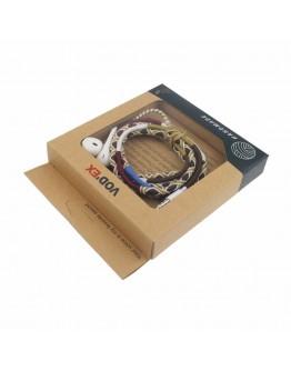 سماعات  لجميع الأجهزة الذكية - متعددة الألوان - VODEX HAND MAKE HEADPHONE MICROPHONE EARPHONE