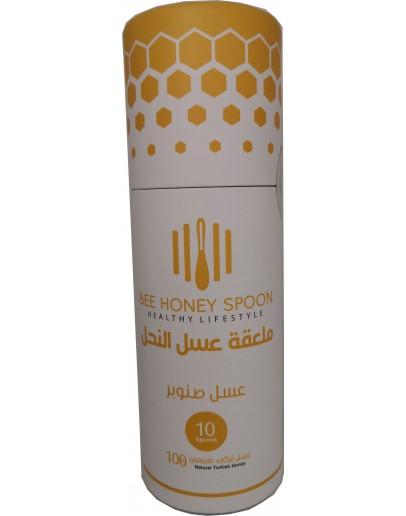 ملاعق عسل الصنوبر