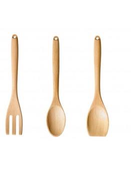 أدوات طهي خشبية - 3 قطع