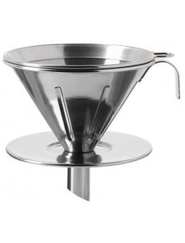 طقم قهوة مرشح معدن 3 قطع